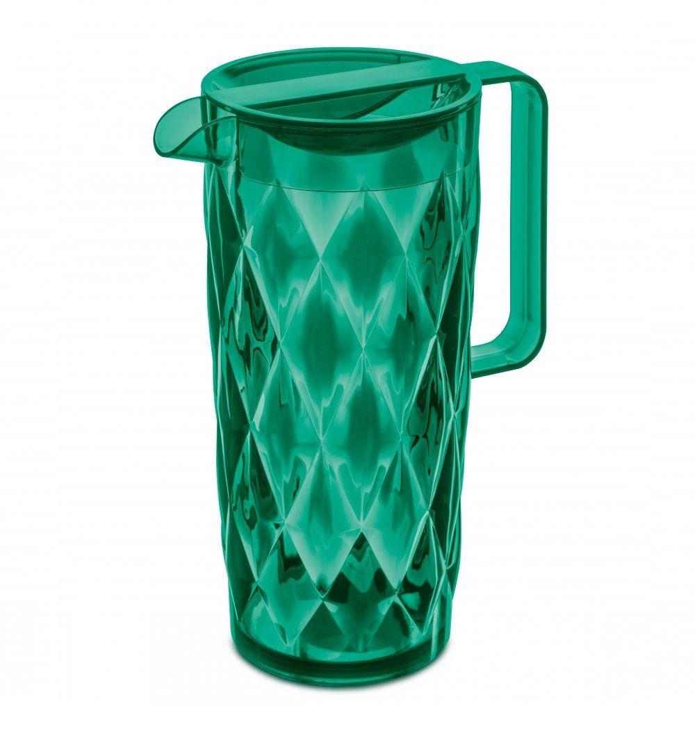 Koziol Schenkkan Crystal Transparant Groen
