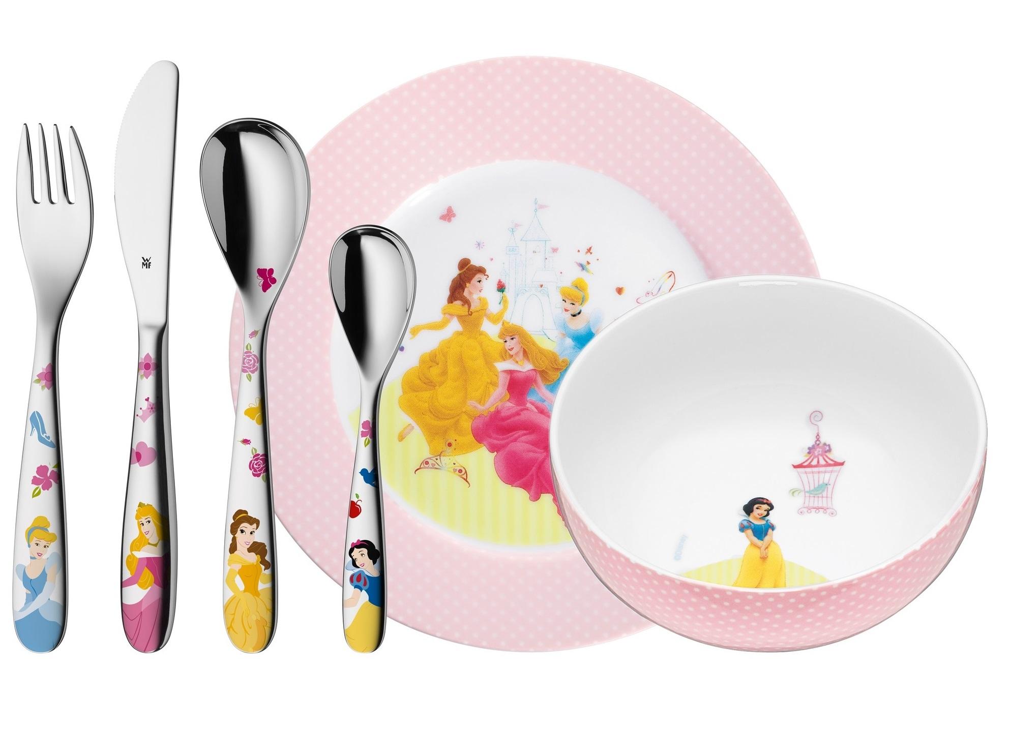 WMF Kinderbestek Kids Disney Princess 6-Delig