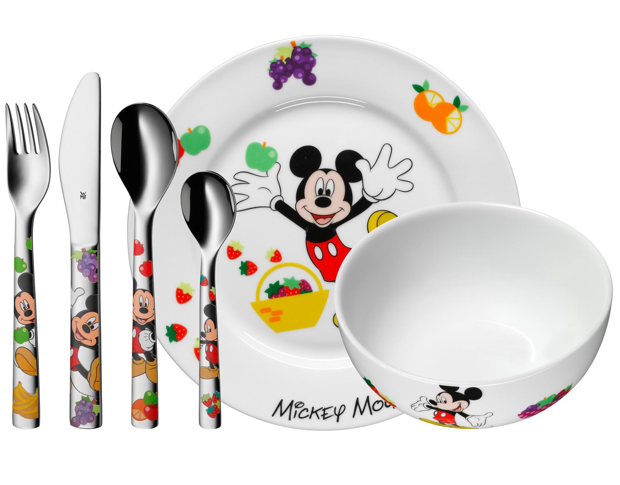 WMF Kinderbestek Kids Disney Mickey Mouse 6-Delig