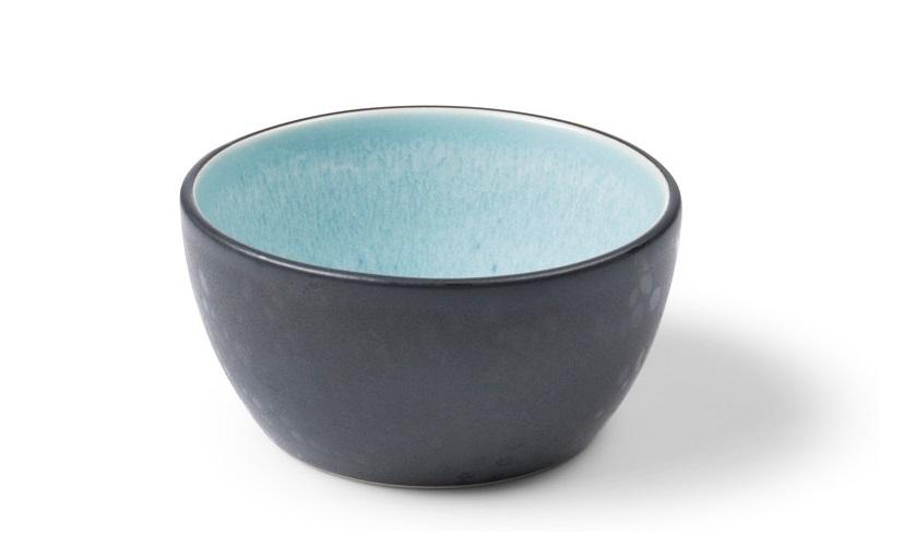 Bitz Sauskom Zwart/Lichtblauw Ø 10 cm