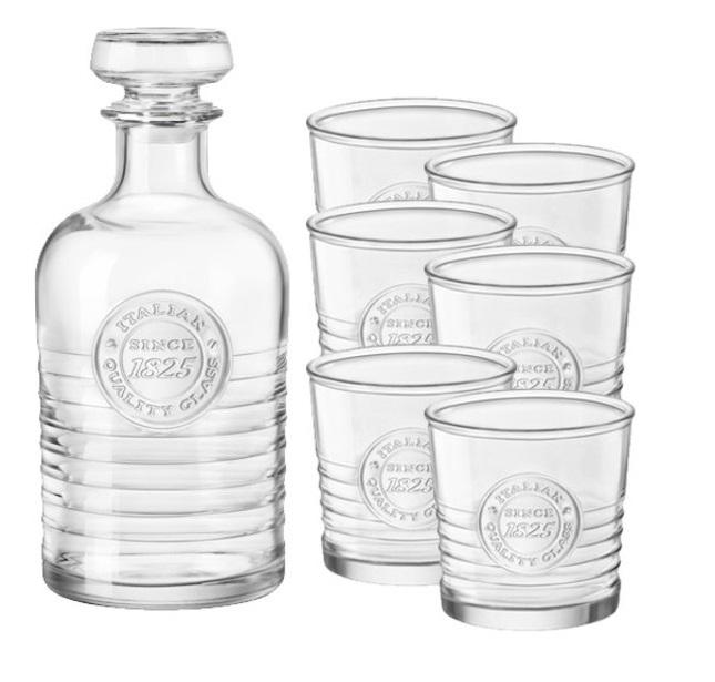 Bormioli Whisky Set Officina 1825