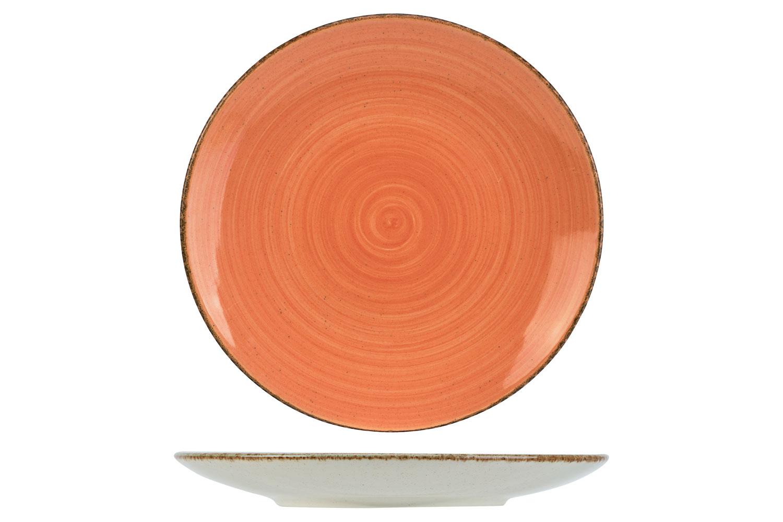 Cosy_Trendy_Granite_Dessertbord_Oranje