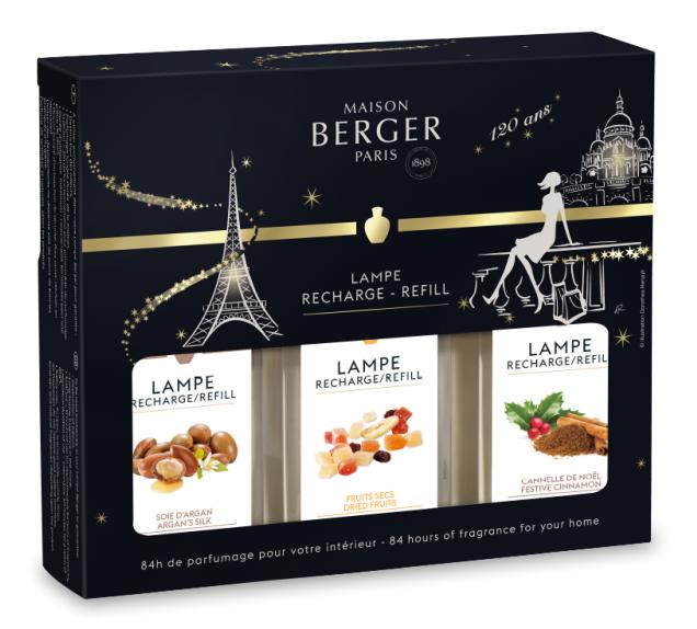 Lampe Berger huisparfum giftset Kerst 2018