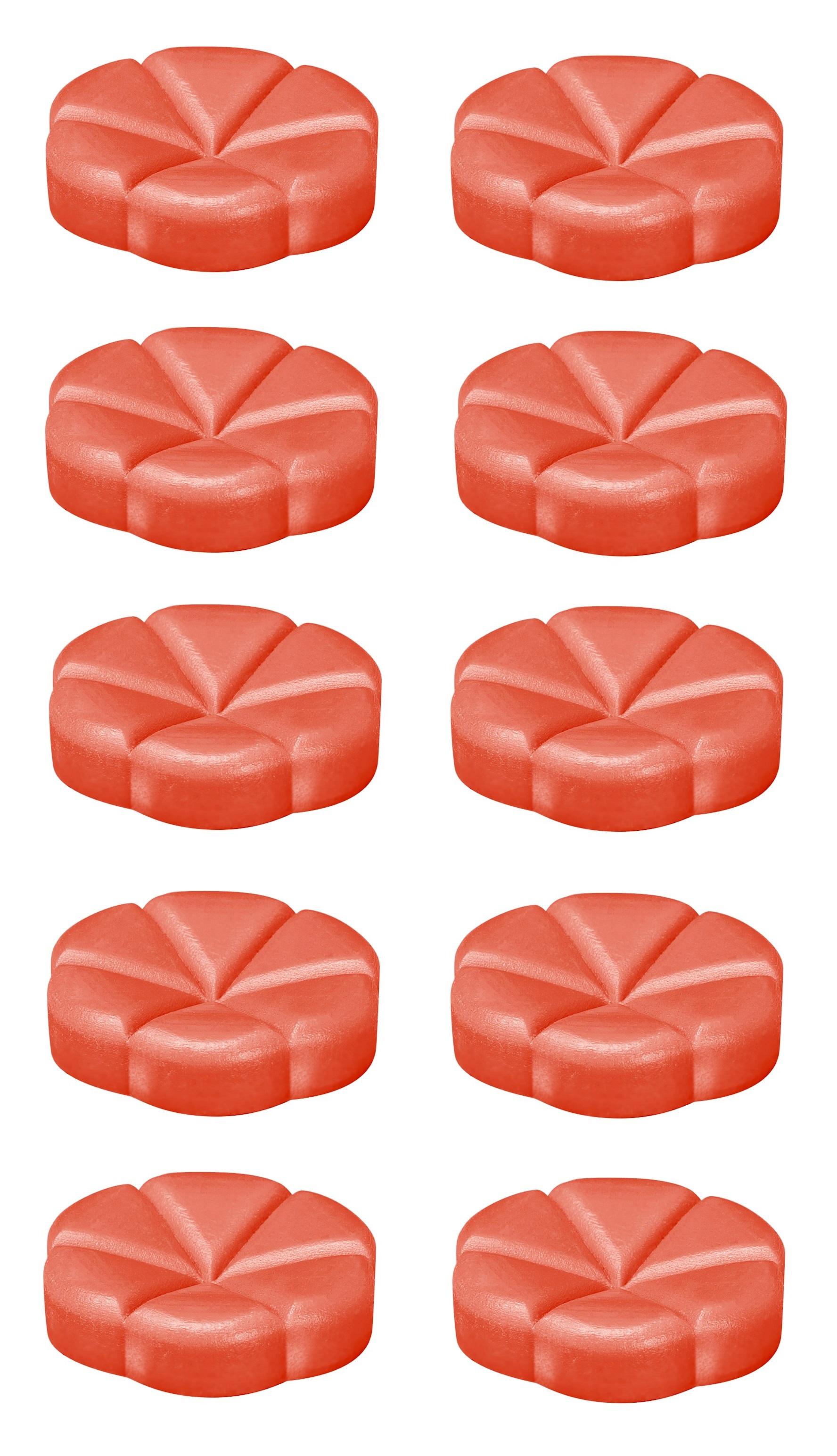Bolsius geurchips Creations Sweet Strawberry - 10 stuks