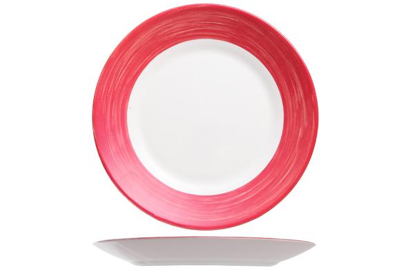 plat-bord-brush-rood-23cm