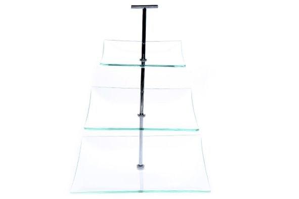 glazen etagere