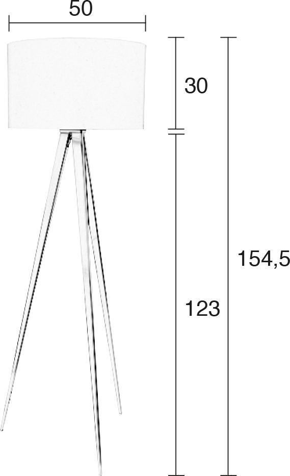 zuiver stehlampe tripod kupfer schwarz. Black Bedroom Furniture Sets. Home Design Ideas