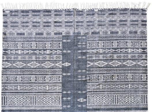 house doctor teppich julia schwarz wei 160x230 cm sale. Black Bedroom Furniture Sets. Home Design Ideas