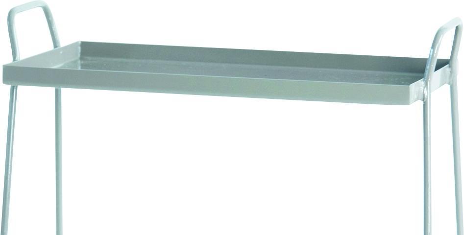 house doctor bijzettafel bak grijs metaal meubelen verlichting. Black Bedroom Furniture Sets. Home Design Ideas