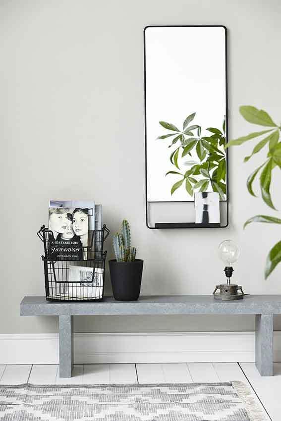 House doctor spiegel pro zwart 60x100 for House doctor verlichting