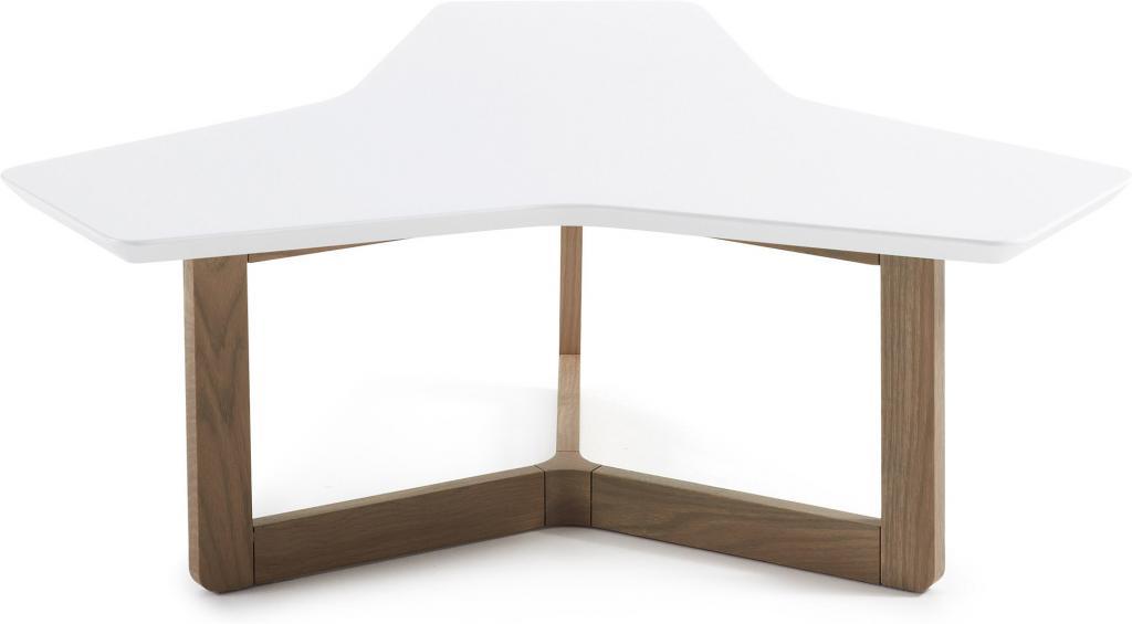 laforma couchtisch treffles wei grau eiche 94 la forma. Black Bedroom Furniture Sets. Home Design Ideas