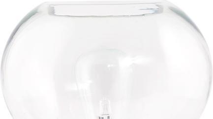 house doctor tischlampe mush 23x26 cm glas kupfer e27. Black Bedroom Furniture Sets. Home Design Ideas