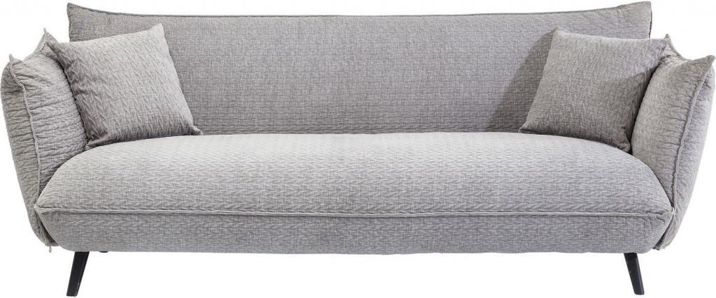 kare design bank molly 3 zits grijs 80x205x90cm meubelen verlichting. Black Bedroom Furniture Sets. Home Design Ideas