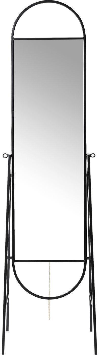 kare design staande spiegel casino zwart meubelen verlichting. Black Bedroom Furniture Sets. Home Design Ideas