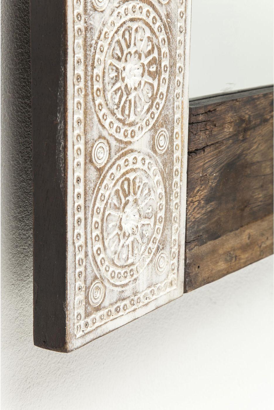 kare design spiegel finca manghout 100x80cm meubelen verlichting. Black Bedroom Furniture Sets. Home Design Ideas