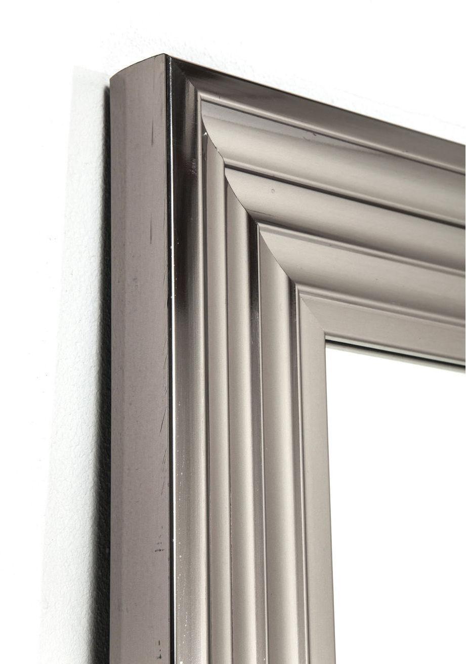 kare design spiegel frame 180x90cm zilver meubelen verlichting. Black Bedroom Furniture Sets. Home Design Ideas