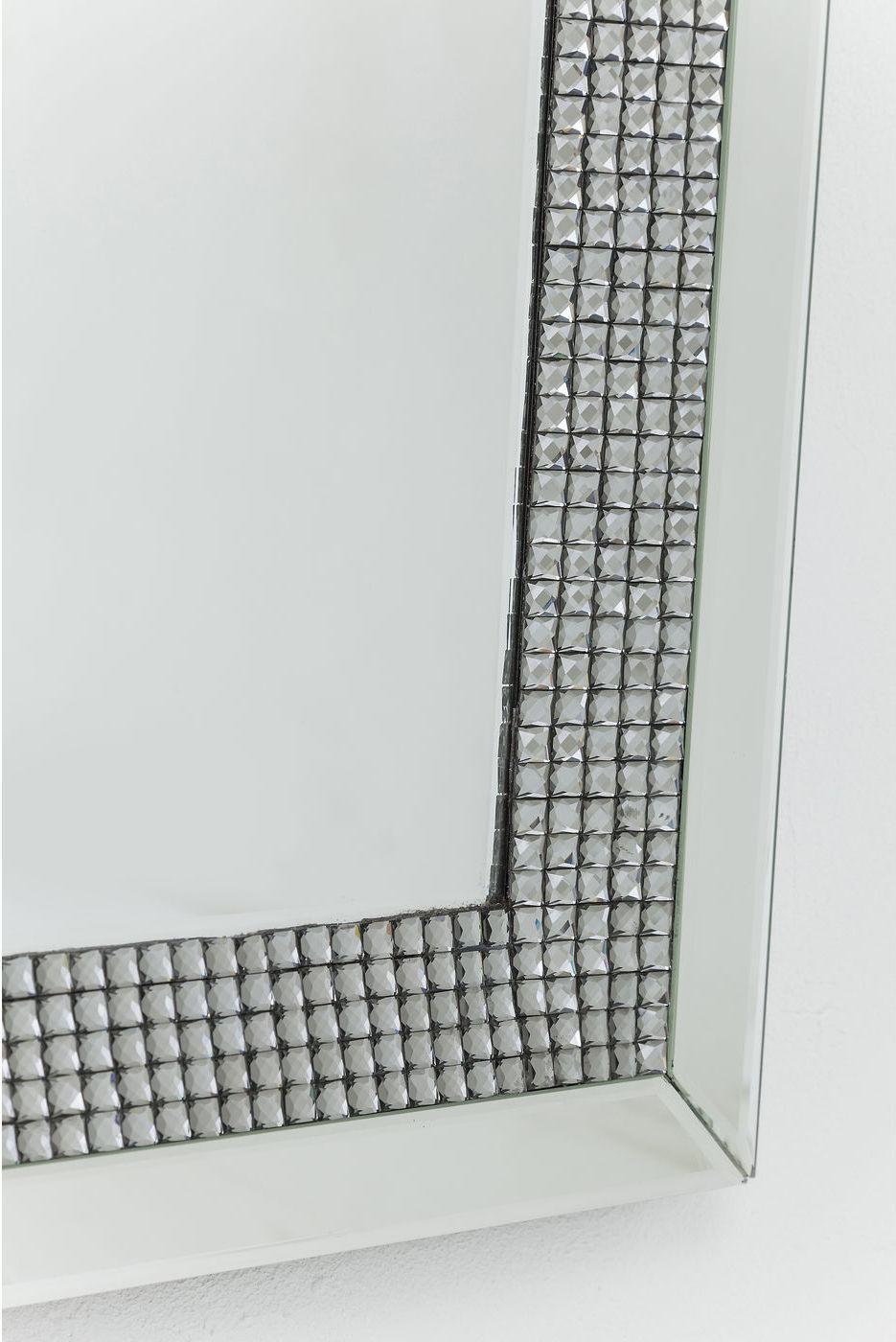 kare design spiegel frame diamonds 120x80cm meubelen verlichting. Black Bedroom Furniture Sets. Home Design Ideas