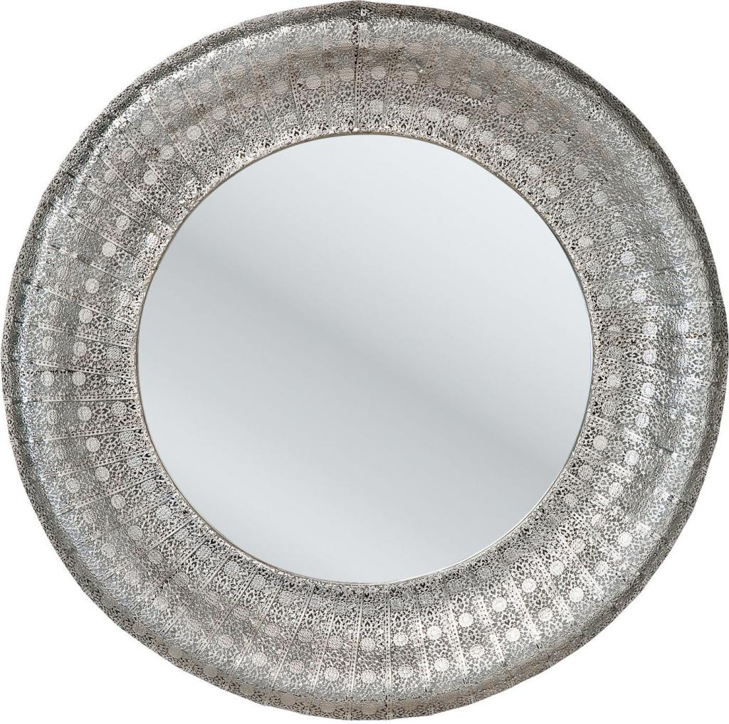 kare design spiegel orient zilver 80cm meubelen verlichting. Black Bedroom Furniture Sets. Home Design Ideas