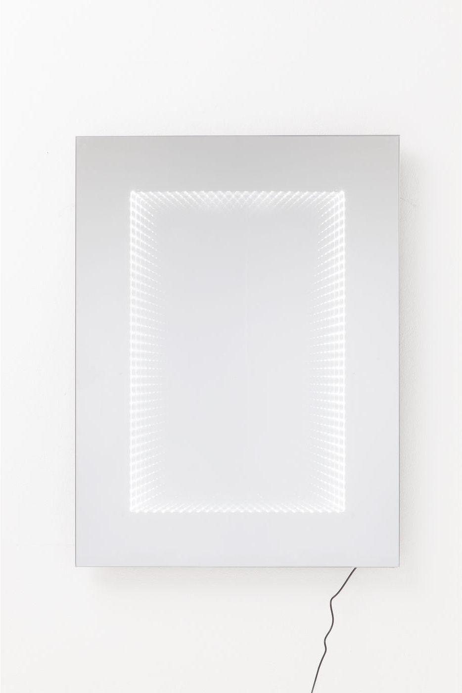 kare design spiegel infinity 120x80cm led meubelen verlichting. Black Bedroom Furniture Sets. Home Design Ideas