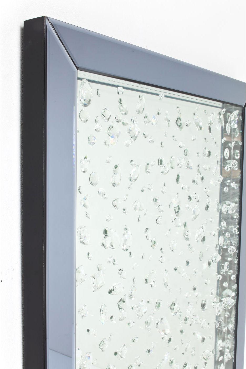 kare design spiegel raindrops 120x80cm meubelen verlichting. Black Bedroom Furniture Sets. Home Design Ideas