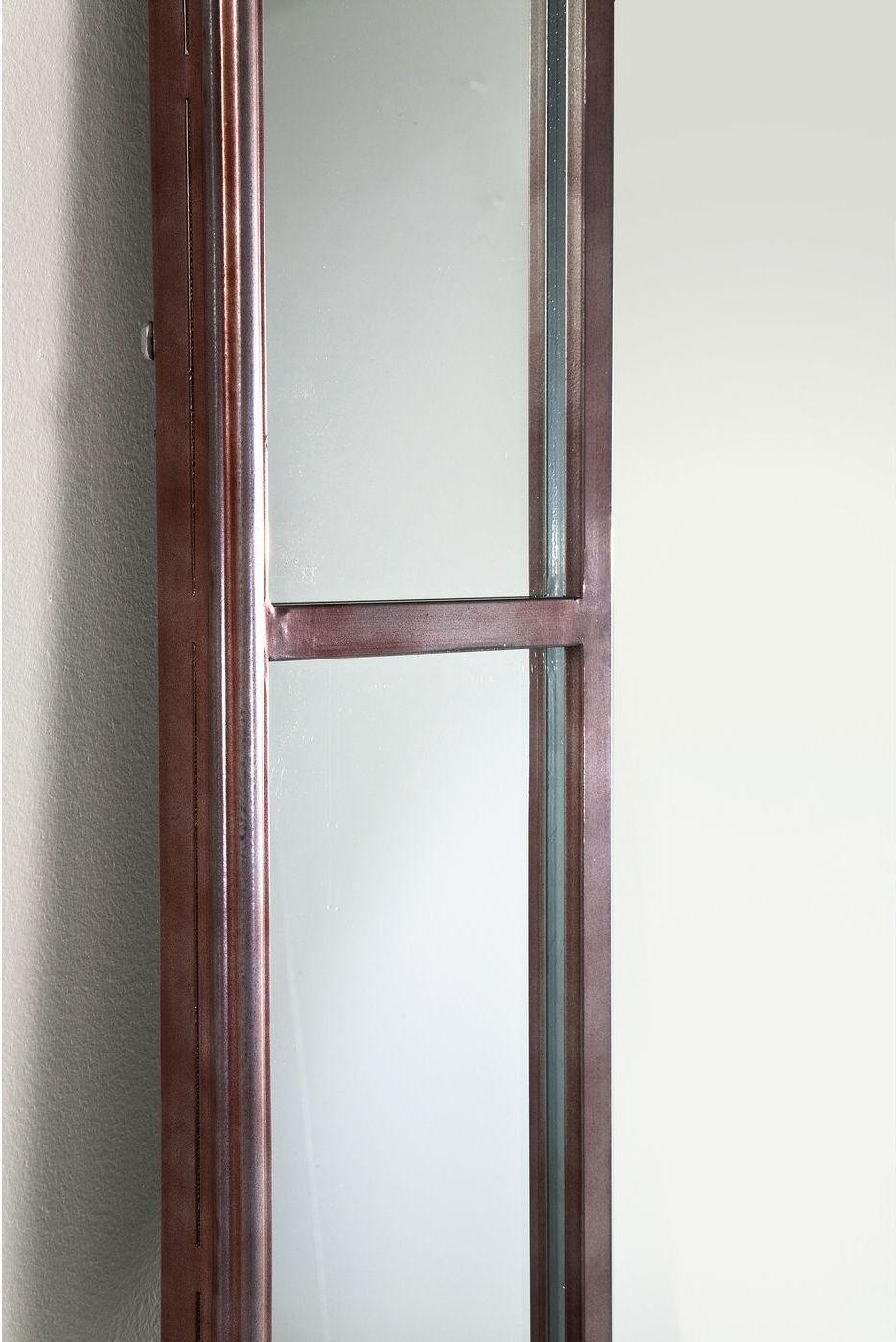kare design spiegel window iron 200x90cm meubelen verlichting. Black Bedroom Furniture Sets. Home Design Ideas