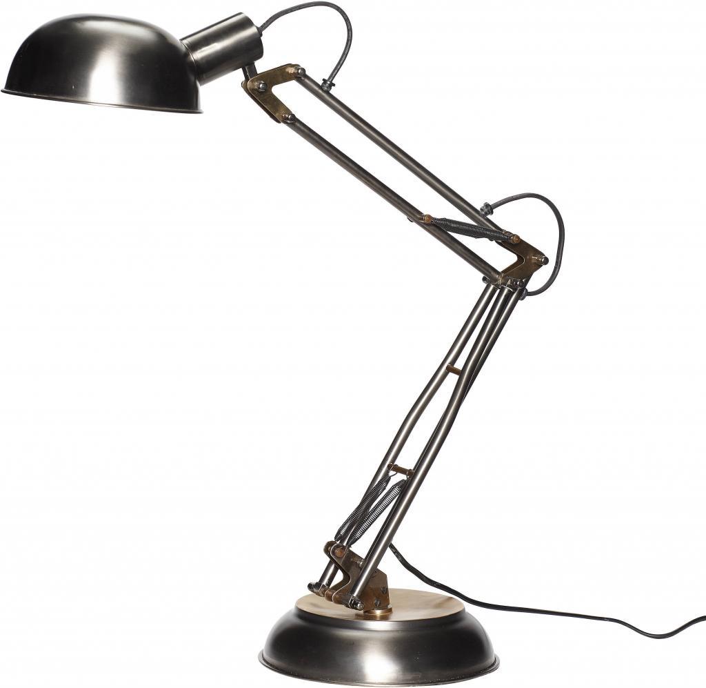 hubsch tischlampe metall messing h63cm eu plug h bsch. Black Bedroom Furniture Sets. Home Design Ideas