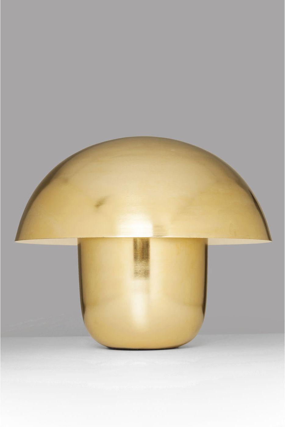 Kare design tischlampe mushroom messing e14 60w for Kare design tischlampe