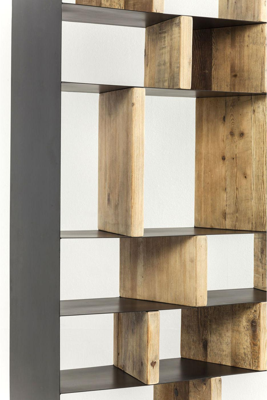 Kare design boekenkast storm 2 deurs h234cm designwonen for Boekenkast design