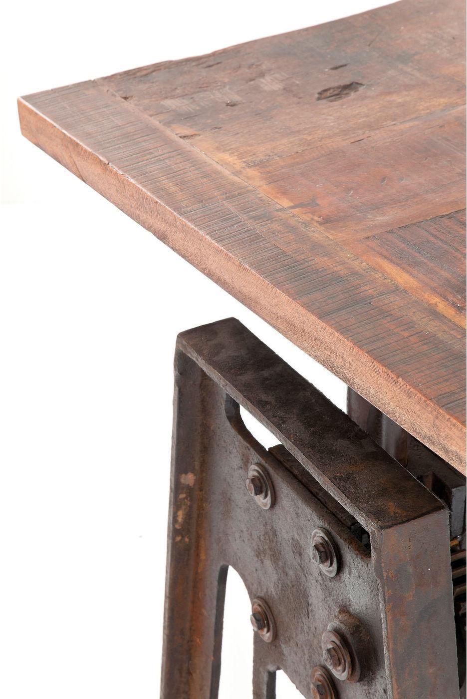 kare design esstisch steamboat 160x80 holz metall. Black Bedroom Furniture Sets. Home Design Ideas