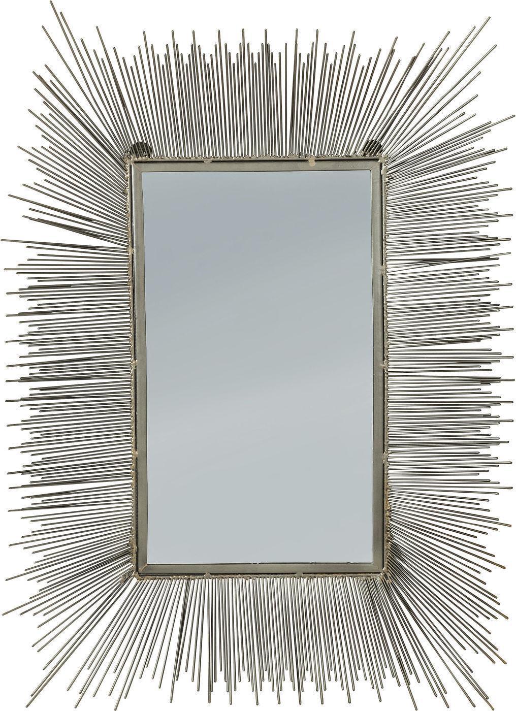 kare design spiegel wire radiation 80x60cm meubelen verlichting. Black Bedroom Furniture Sets. Home Design Ideas