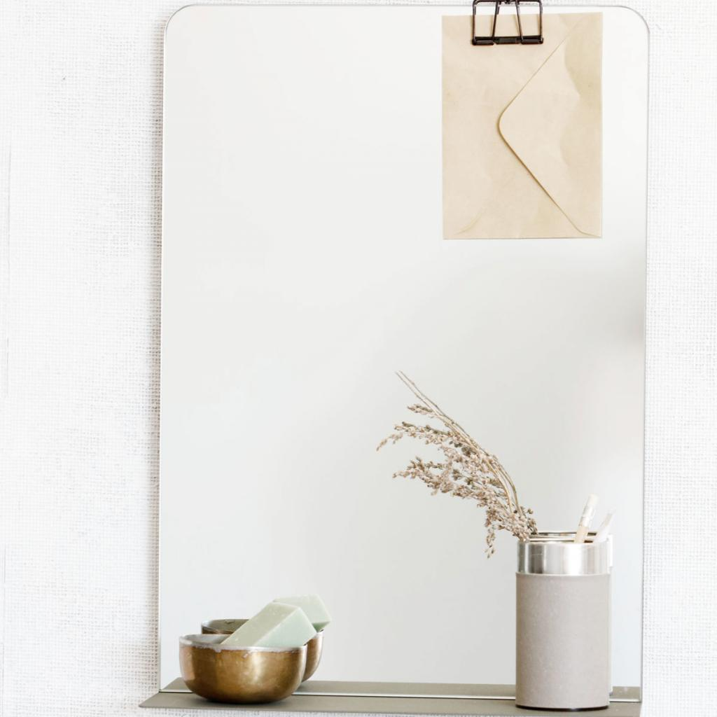 house doctor spiegel room army groen 35x10 x h50cm met. Black Bedroom Furniture Sets. Home Design Ideas