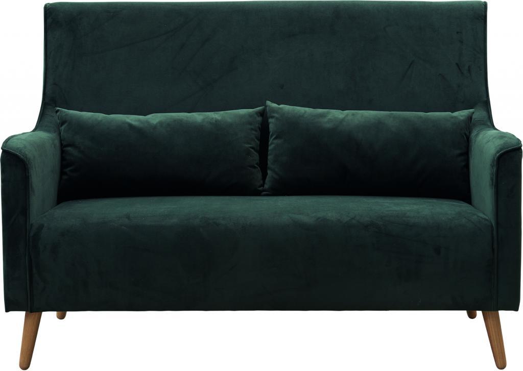 house doctor sofa chaz groen velvet meubelen verlichting. Black Bedroom Furniture Sets. Home Design Ideas