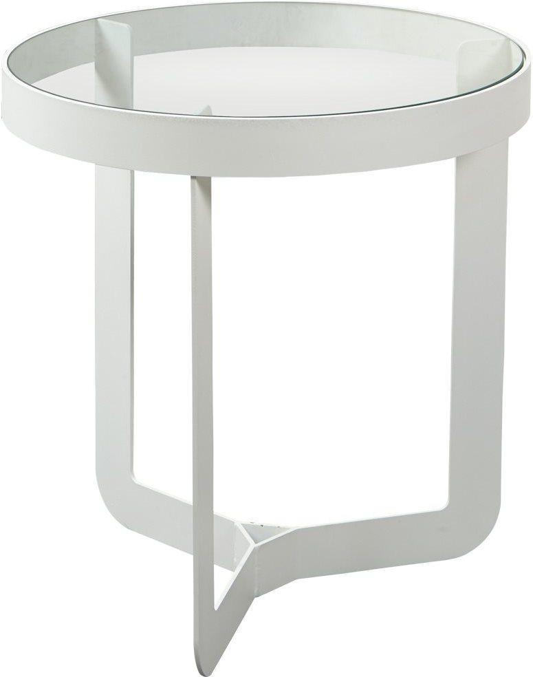 Spinder design beistelltisch douglas 2 wei glas for Beistelltisch design glas