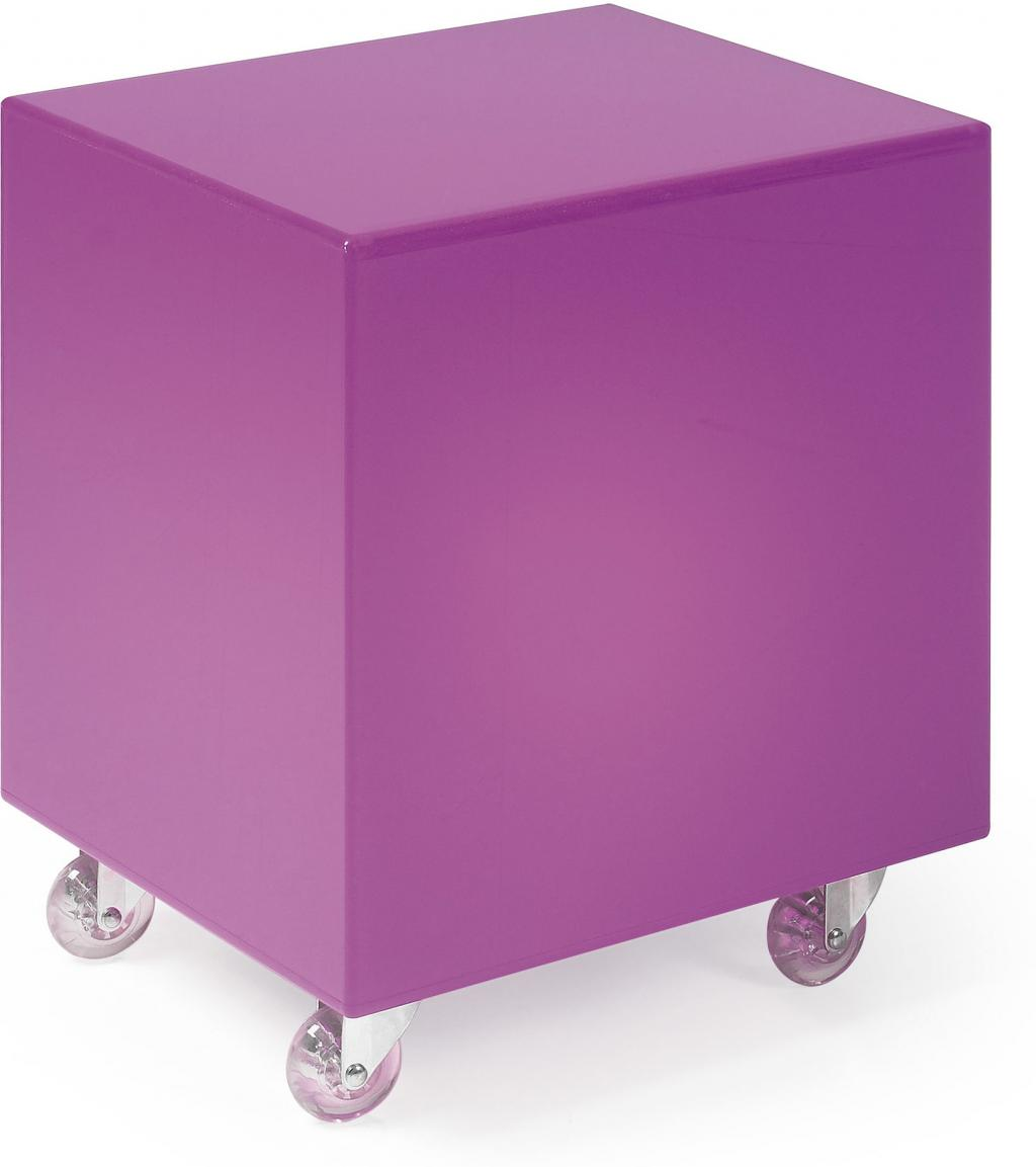 laforma beistelltisch acapulco rosa mit beleuchtung la forma. Black Bedroom Furniture Sets. Home Design Ideas
