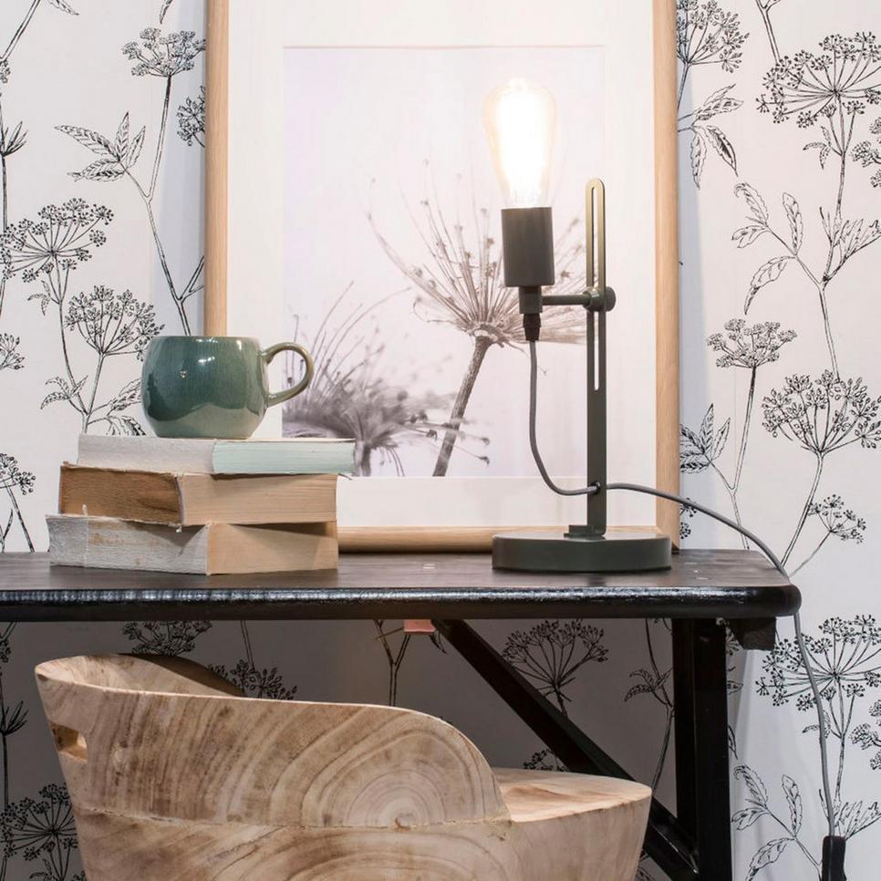 it 39 s about romi tafellamp seattle grijsgroen meubelen verlichting. Black Bedroom Furniture Sets. Home Design Ideas