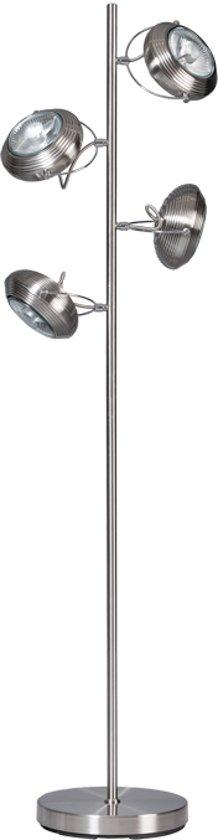 Vloerlamp ETH Mileto - Staal - Metaal