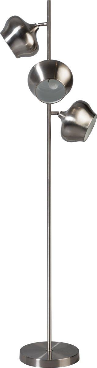 Vloerlamp ETH Ajaccio - Staal - Metaal