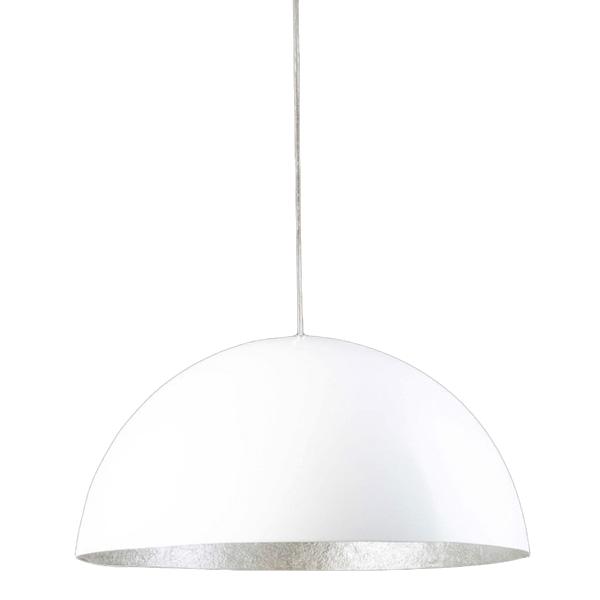 Hanglamp Wit-Zilver