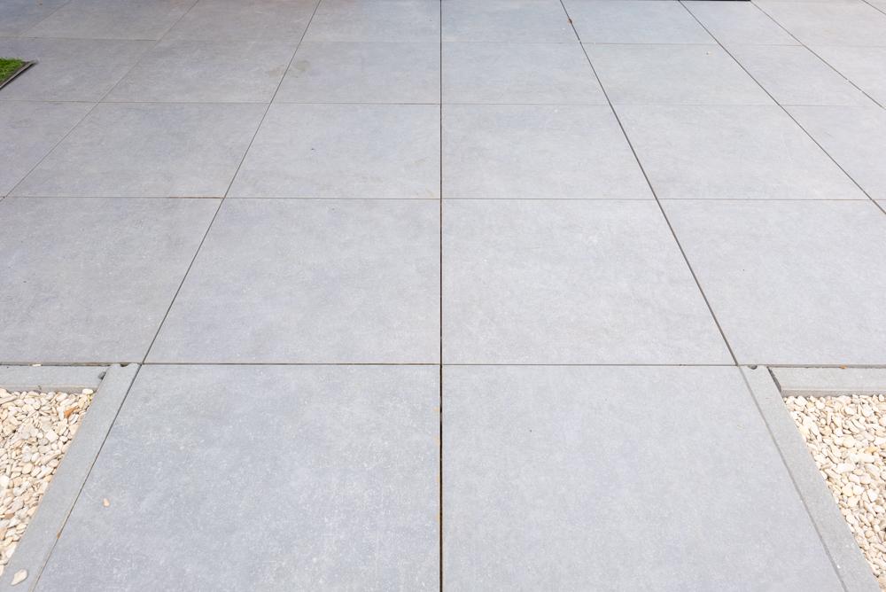 Tegelterras 60x60x4 en 60x60x6 cm Geoceramica tegels