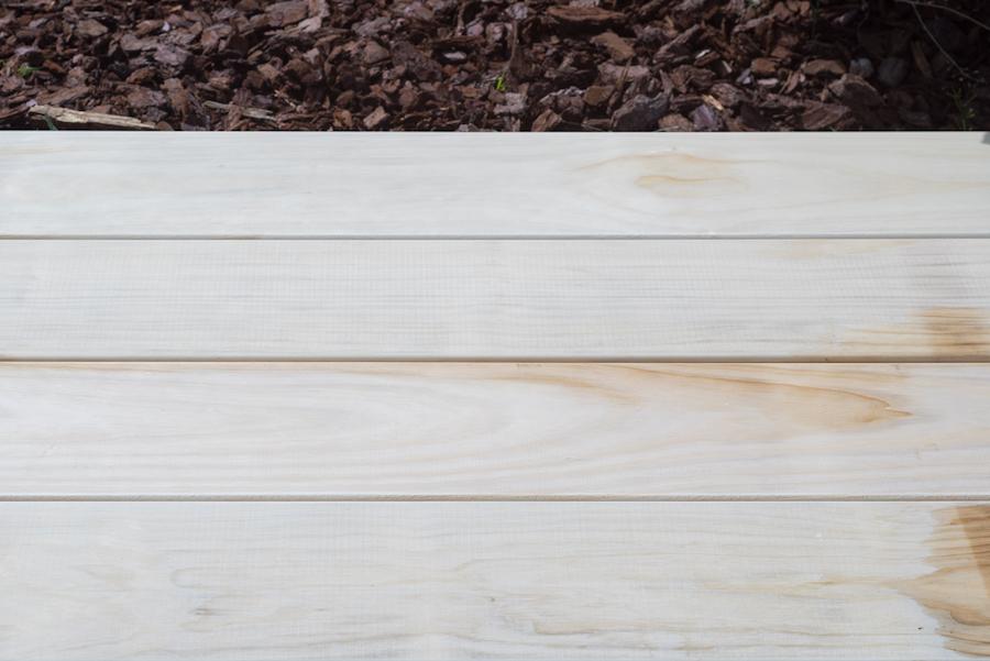 accoya hout vlonder