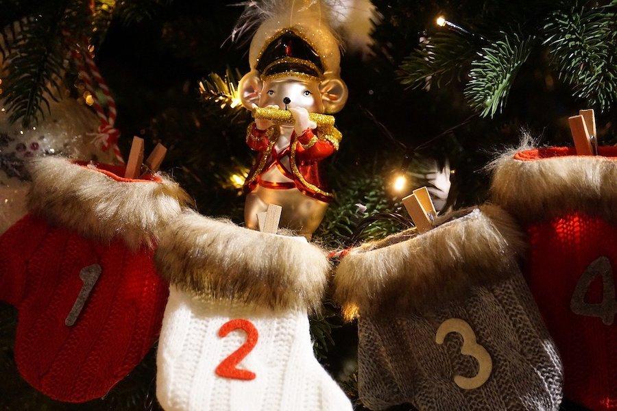 Advent kalender kerst