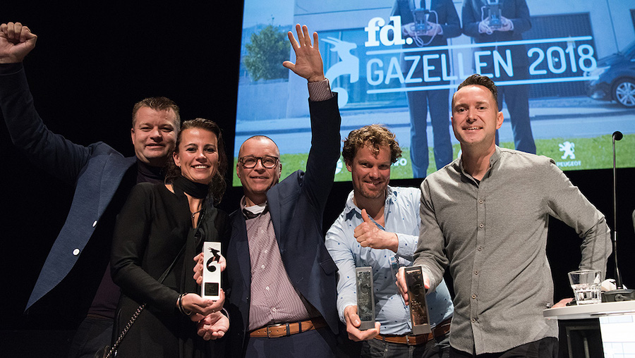 FD Gazellen Awards 2e plaats Gadero