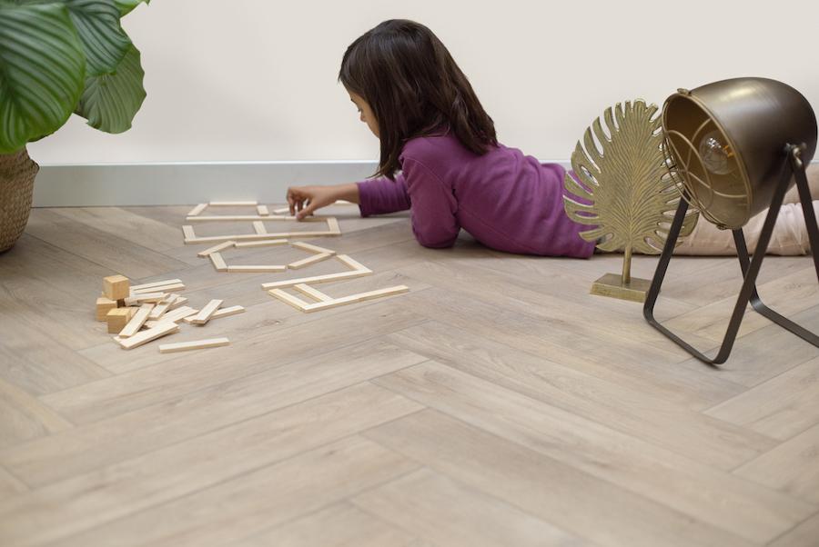 PVC vloer geschikt voor kinderen