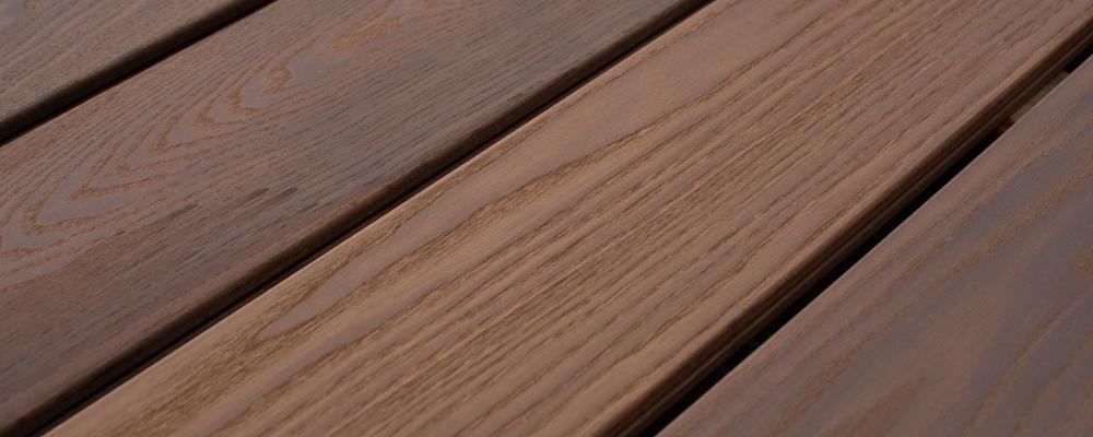 vlonder thermisch gemodificeerd hout