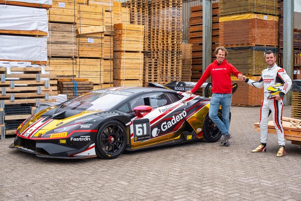 Henk Jan en Max Weering bij Lamborghini