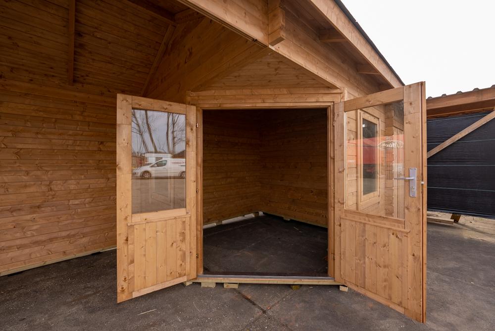 Open deuren Blokhut Olson
