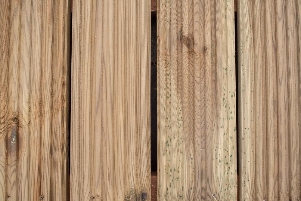 geimpregneerd hout vlonder