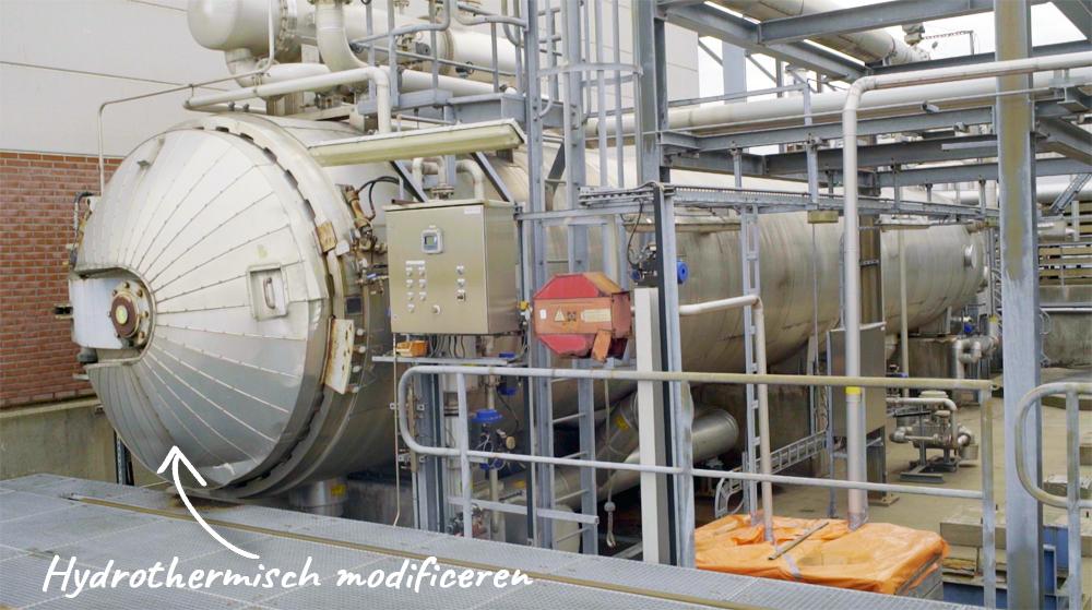 Hydrothermisch modificeren