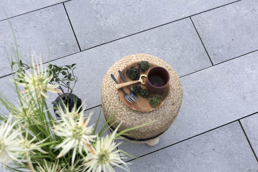 Keramische terras tegels smal