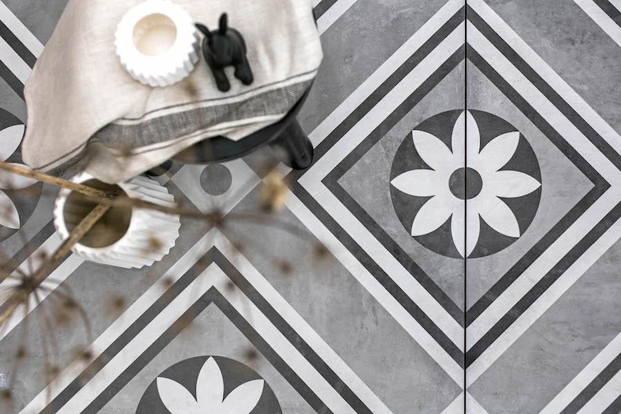 Keramische tegels patroon